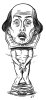 Naked Shakespeare Company logo