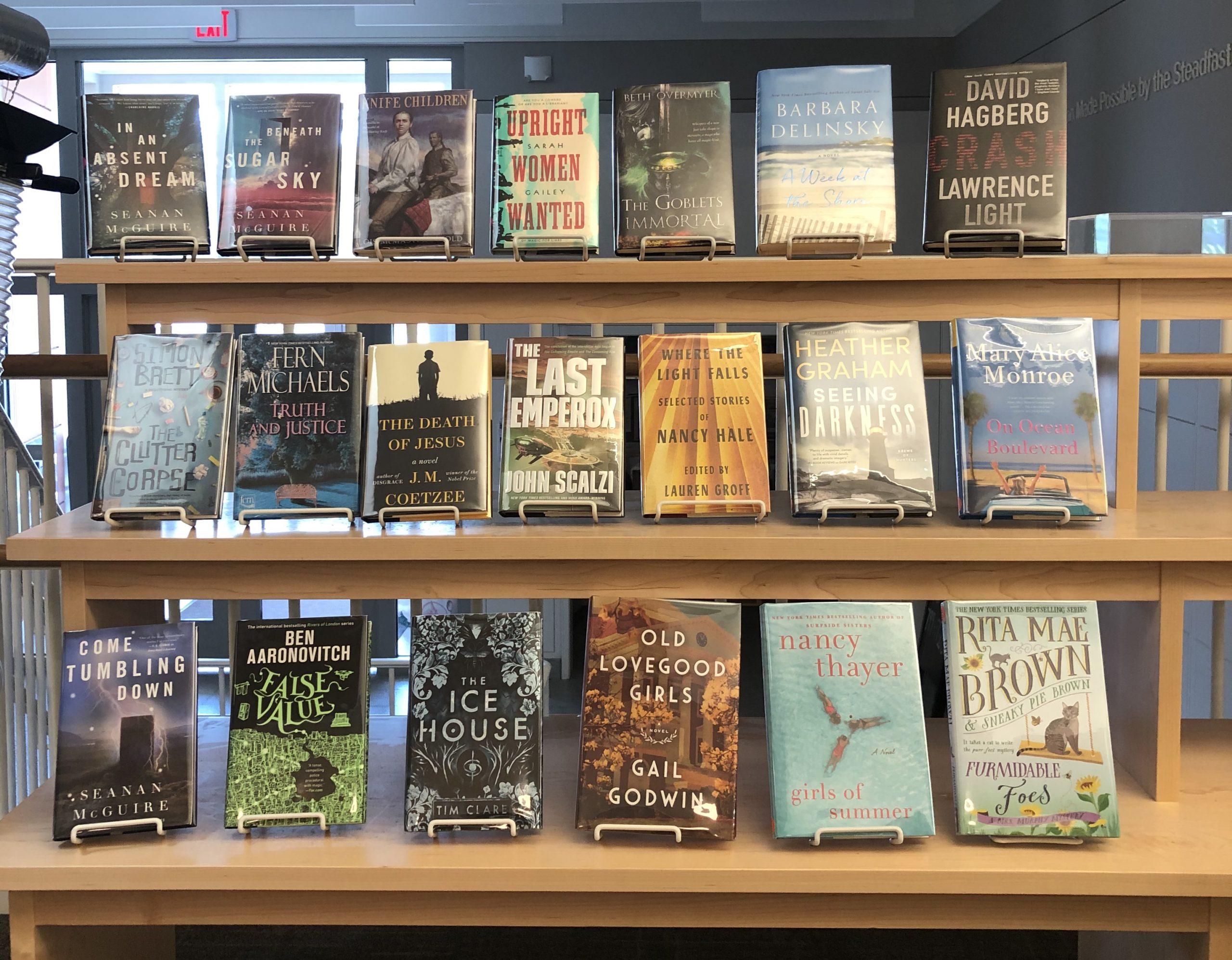 New Books May/June display