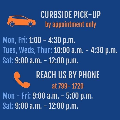 Curbside Hours Updated